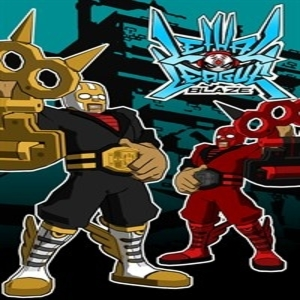 Lethal League Blaze Shining-Gold Super Winner Outfit for Nitro