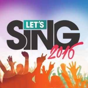 Buy Lets Sing 2016 PS4 Game Code Compare Prices