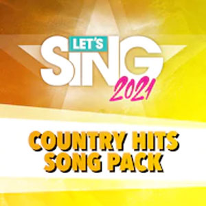 Let's Sing 2021 Country Hits Song Pack