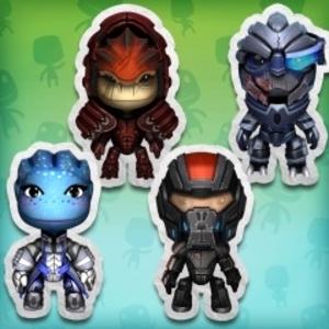 LittleBigPlanet 2 Mass Effect Costume Pack