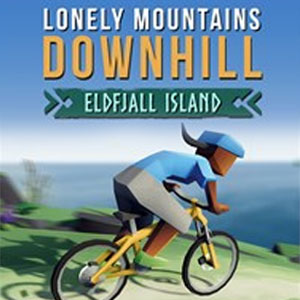Lonely Mountains Downhill Eldfjall Island