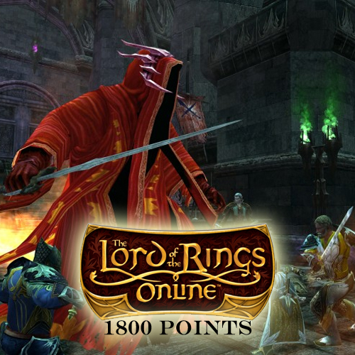 Buy Lord of the Rings Online 1800 Turbine Point GameCard Code Compare Prices