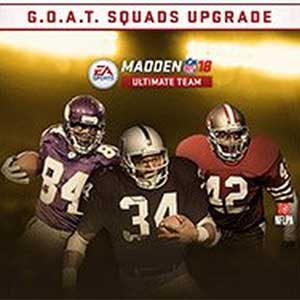 Madden NFL 18 G.O.A.T Squads Upgrade