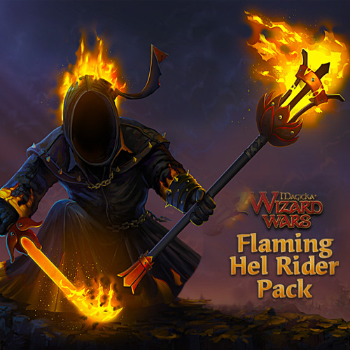 Buy Magicka Wizard Wars Flaming Hel Rider Pack DLC CD Key Compare Prices