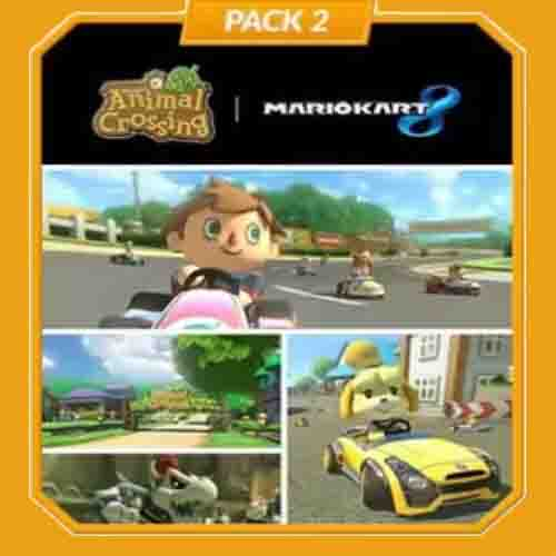 Buy Mario Kart 8 Pack 2 Animal Crossing Nintendo Wii U Download Code Compare Prices