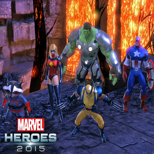 Marvel Heroes 2015 Avengers Assemble Team Pack