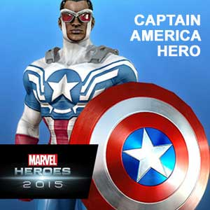 Marvel Heroes 2015 Captain America Hero