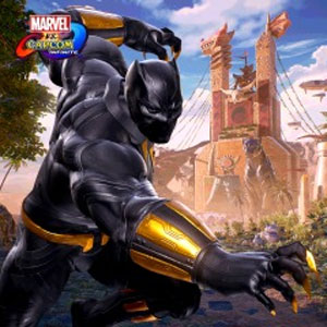 Marvel vs Capcom Black Panther