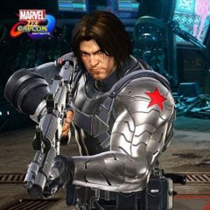 Marvel vs Capcom Winter Soldier