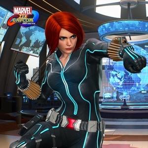 Marvel vs Capcom Infinite Black Widow