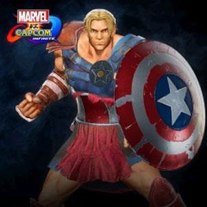 Marvel vs Capcom Infinite Captain America Gladiator Costume
