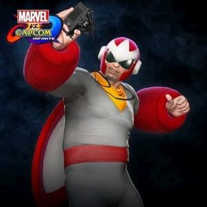 Marvel vs. Capcom Infinite Frank West Proto Man Costume