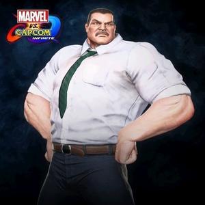 Marvel vs. Capcom Infinite Haggar Metro City Mayor Costume