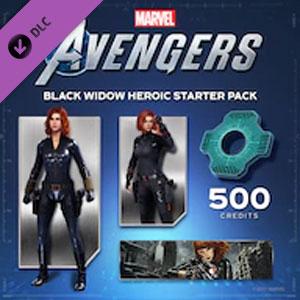 Marvel's Avengers Black Widow Heroic Starter Pack