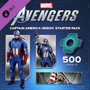 Marvel's Avengers Captain America Heroic Starter Pack