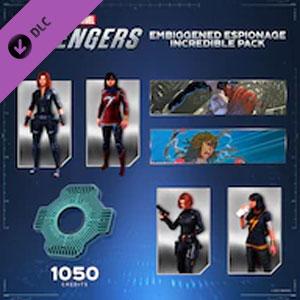 Marvel's Avengers Embiggened Espionage Incredible Pack