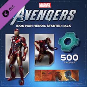 Marvel's Avengers Iron Man Heroic Starter Pack