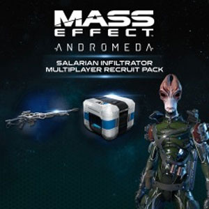 Mass Effect Andromeda Salarian Infiltrator MP Pack