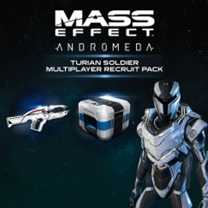 Mass Effect Andromeda Turian Soldier Multiplayer Recruit Pack