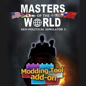 Masters of the World Geo-Political Simulator 3 Modding Tool Add-on