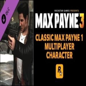 Max Payne 3 Classic Max Payne Character