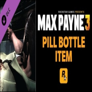 Max Payne 3 Pill Bottle Item