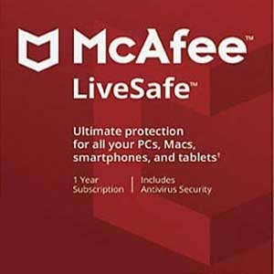 Buy McAfee LiveSafe 2021 CD KEY Compare Prices