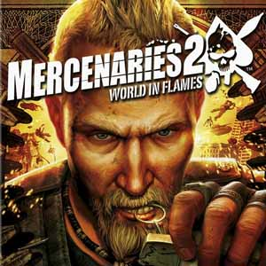 Buy Mercenaries 2 World in Flames PS3 Game Code Compare Prices