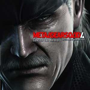Buy Metal Gear Solid 4 Guns of the Patriots PS3 Game Code Compare Prices