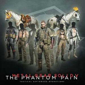 Metal Gear Solid 5 The Phantom Pain Costume and Tack Pack