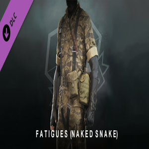 METAL GEAR SOLID 5 THE PHANTOM PAIN Fatigues Naked Snake