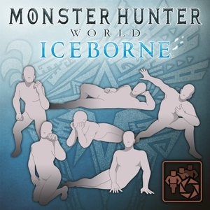 Buy MHW Iceborne Pose Set Crouching PS4 Compare Prices