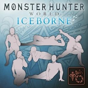 MHW Iceborne Pose Set Crouching