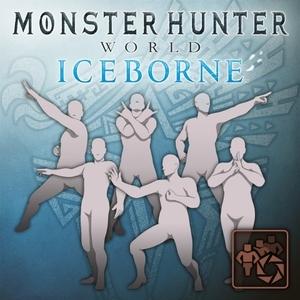 MHW Iceborne Pose Set Unique