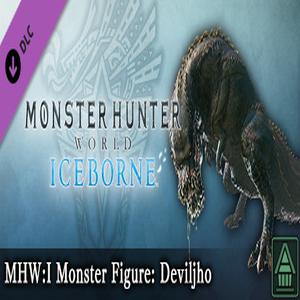MHWI Monster Figure Deviljho