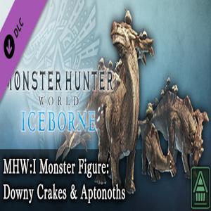 MHWI Monster Figure Downy Crakes & Aptonoths