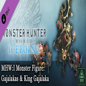 MHWI Monster Figure Gajalakas & King Gajalaka