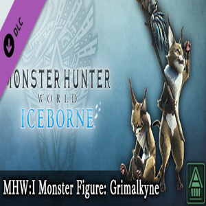 MHWI Monster Figure Grimalkyne