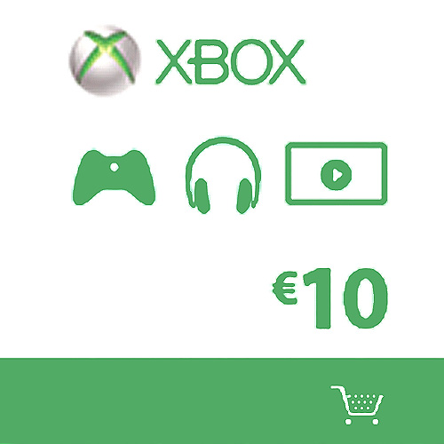 Buy Microsoft Gift Card 10 Euro Xbox Live Code Compare Prices