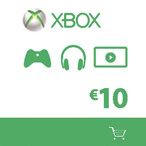 Microsoft Gift Card 10 Euro Xbox Live