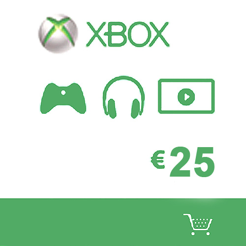 Buy Microsoft Gift Card 25 Euro Xbox Live Code Compare Prices