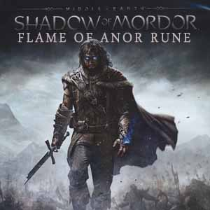 Middle Earth Shadow of Mordor Flame of Anor Rune