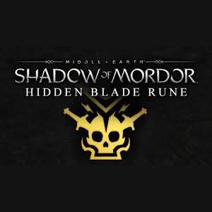 Middle-earth Shadow of Mordor Hidden Blade Rune