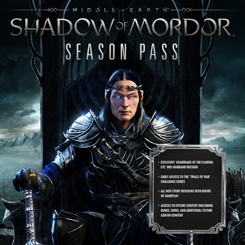 Buy Middle Earth Shadow Of Mordor Season Pass CD Key Compare Prices