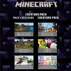 Minecraft Creators Pack DLC