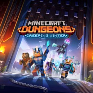 Buy Minecraft Dungeons Creeping Winter PS4 Compare Prices