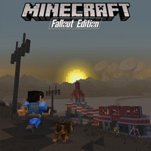 Minecraft Fallout Mash-up