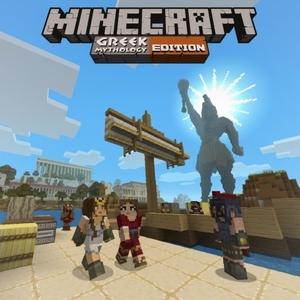 Minecraft Greek Mythology Mash-up