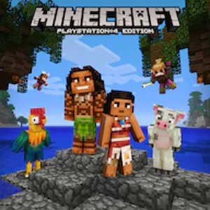 Buy Minecraft Moana Character Pack PS4 Compare Prices