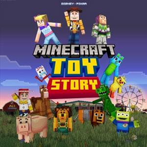Minecraft Toy Story Mash-up